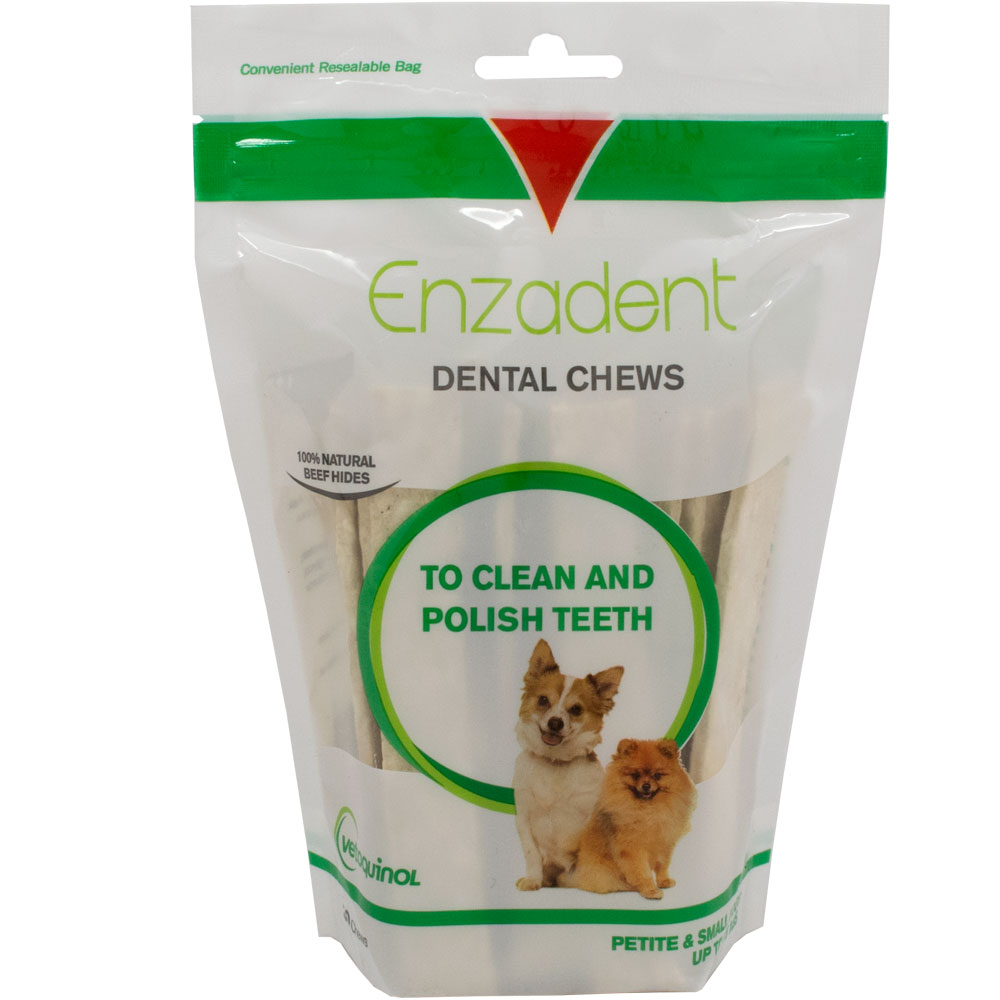 Vetoquinol Enzadent Dental Chews for Petite & Small Dogs (30 count) im test