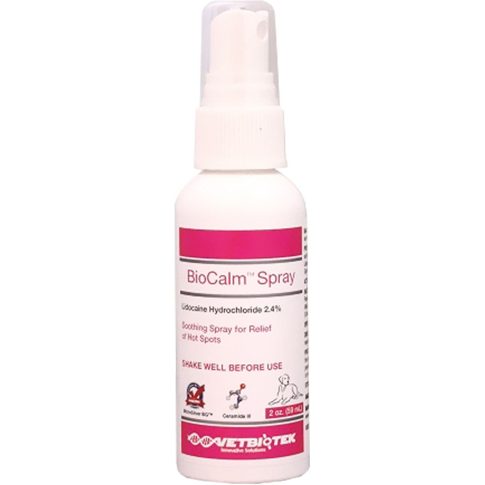 Image of VetBiotek BioCalm™ Spray - 2 oz - For Dogs - from EntirelyPets