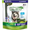 VetIQ Minties Dental Treats - Large 12 oz (8 count)
