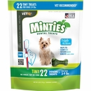 VetIQ Minties Dental Treats - Tiny 6 oz (22 count)