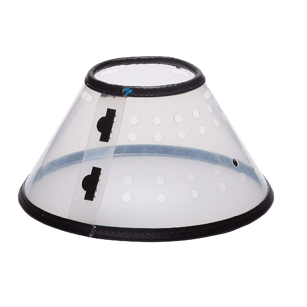 """VetOne Safety Elizabethan E-Collar, 15.25"""" - 20"""" (25cm Depth)"" im test"