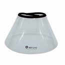 "VetOne VetView Elizabethan Padded E-Collar, 17"" - 22.5"" (30cm Depth)"