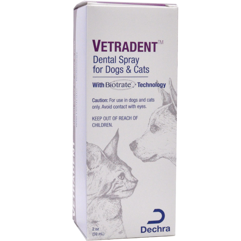 Vetradent Vanilla Oral spray