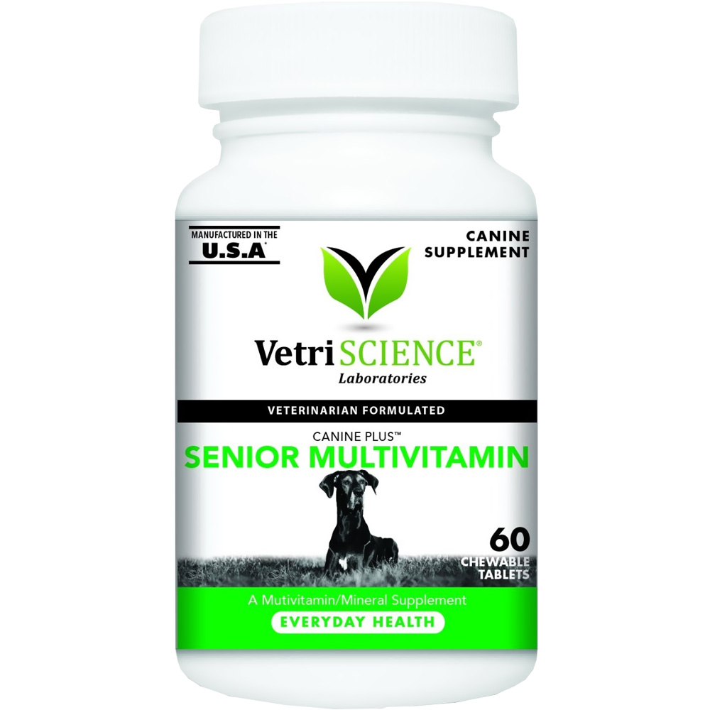VetriScience Canine Plus Senior MultiVitamin (60 Chewable Tablets) im test