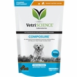 VetriScience Composure Calming Supplement for Dogs - Peanut Butter (120 Bite-Sized Chews)