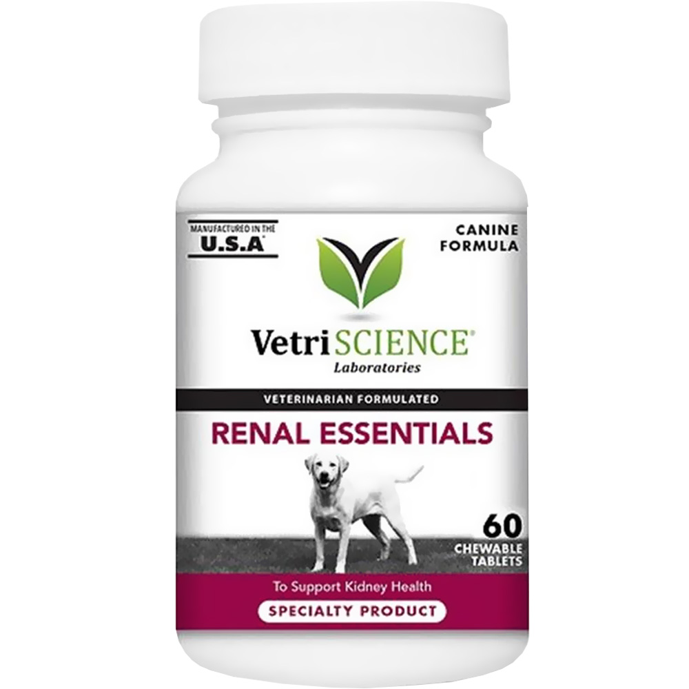 VetriScience Renal Essentials Canine Formula (60 Chewable Tablets) im test