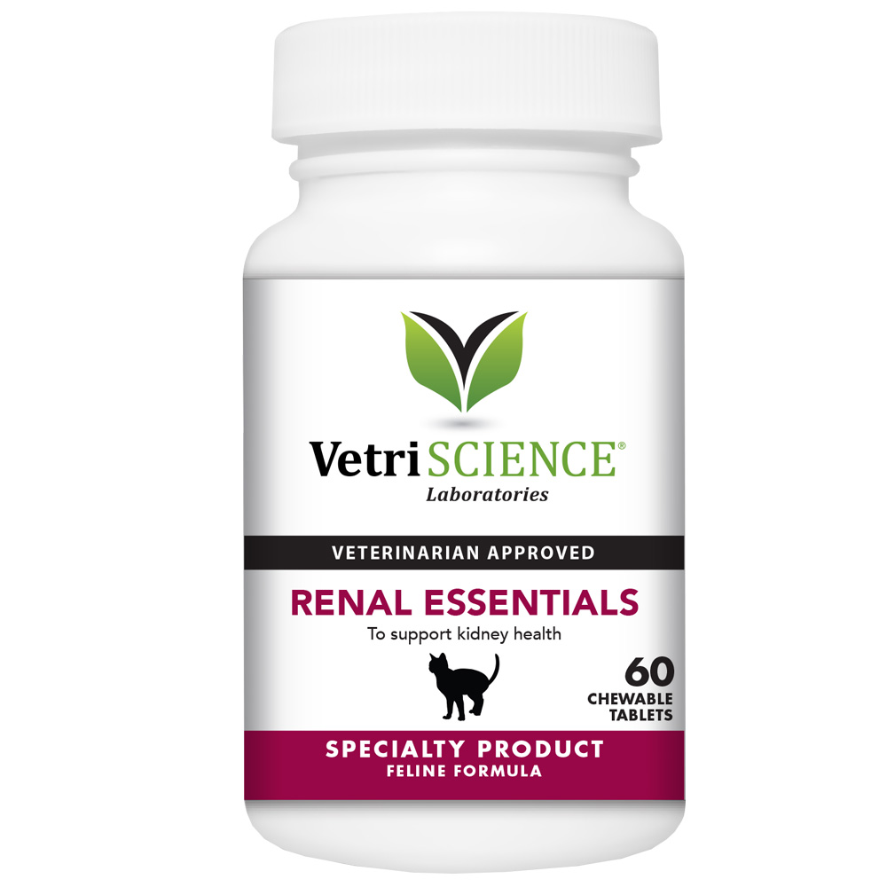 VetriScience Renal Essentials For Cats Fish Flavor (60 Tabs) im test