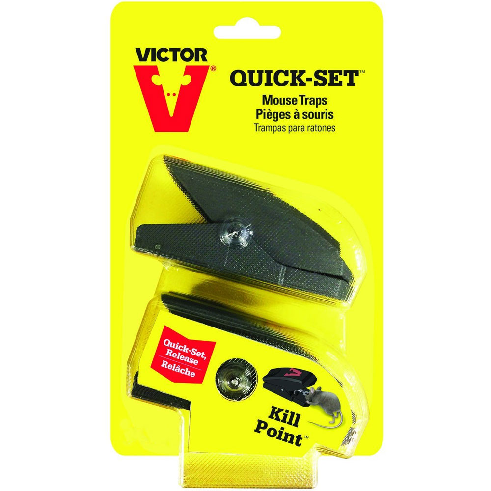 Victor Quick Set Mouse Trap (2-Pack) im test