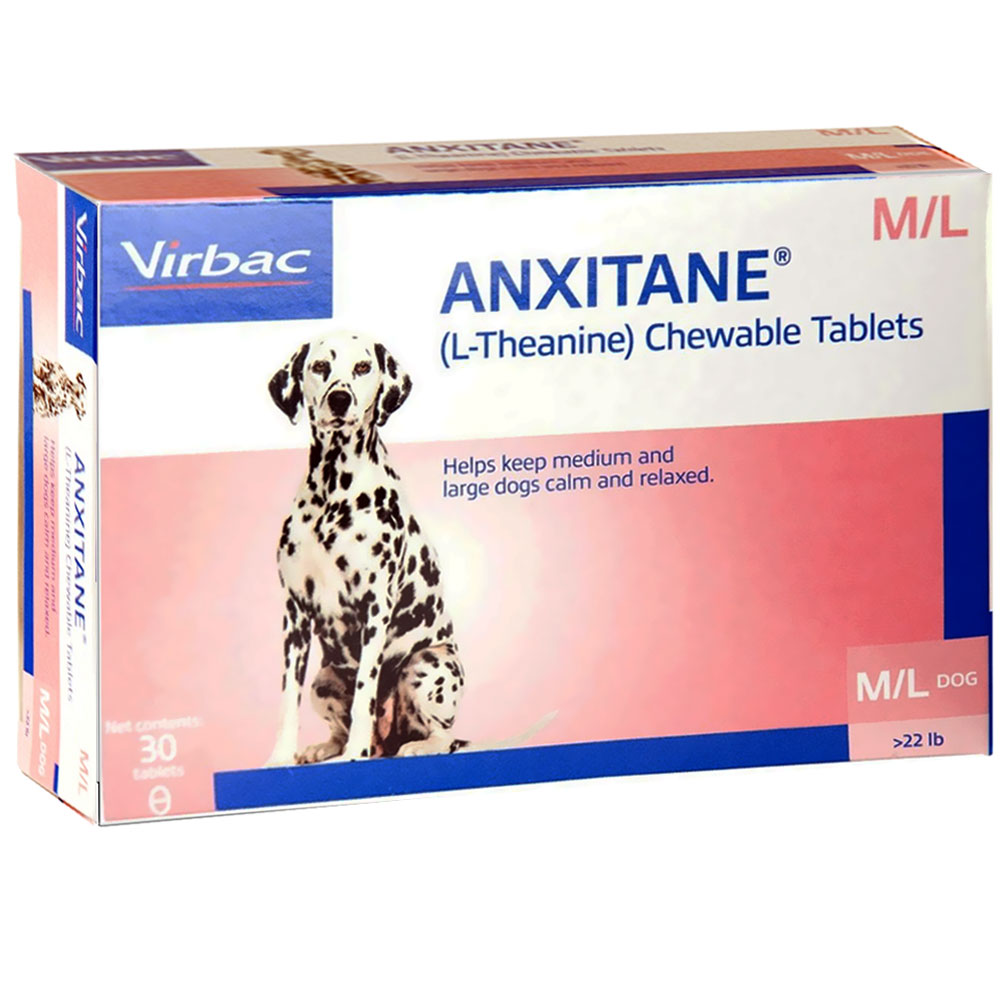 Virbac Anxitane M & L - 30 Tabs - For Dogs - from EntirelyPets