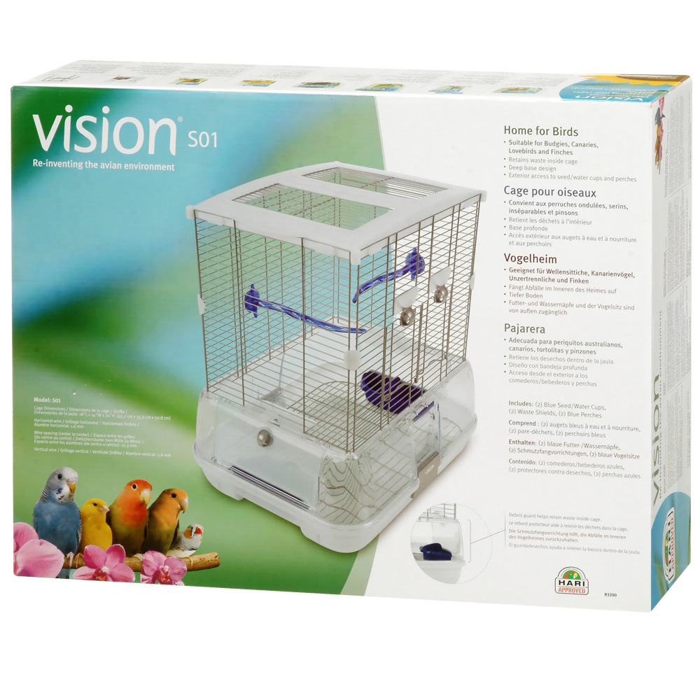 Vision S01 Bird Care - Small im test