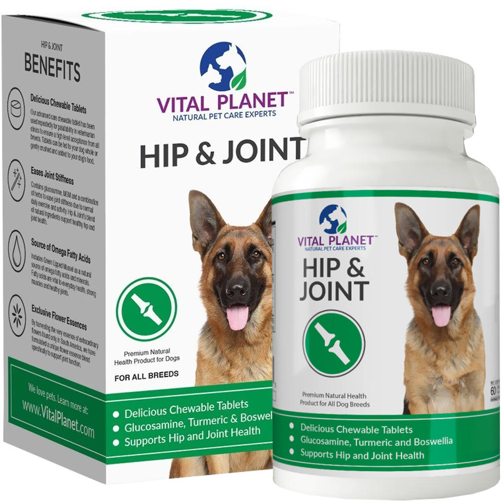 Vital Planet Hip & Joint (60 Chewable Tablets) im test