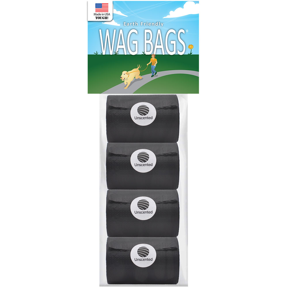 Wag Bags Refill Black - Unscented (60 Bags) im test