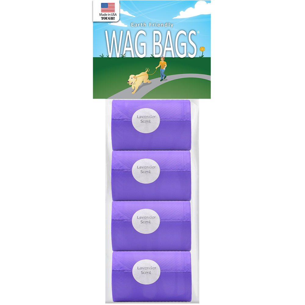 Wag Bags Refill Lavender - Scented (60 Bags) im test