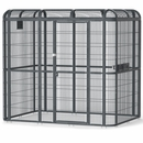 """Walk In Aviary  - Stainless Steel (86"""" x 62"""" x 79"""")"""