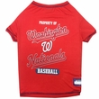 Washington Nationals Dog Tee Shirt - XSmall