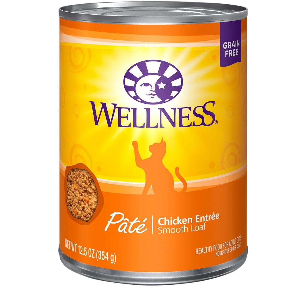 Wellness Cat Food - Chicken (12.5 oz) im test