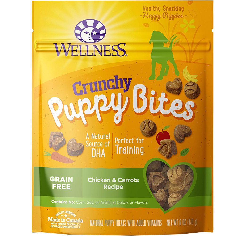 http://www.entirelypets.com - Wellness Puppy Bites – Chicken & Carrots (6 oz) 5.49 USD