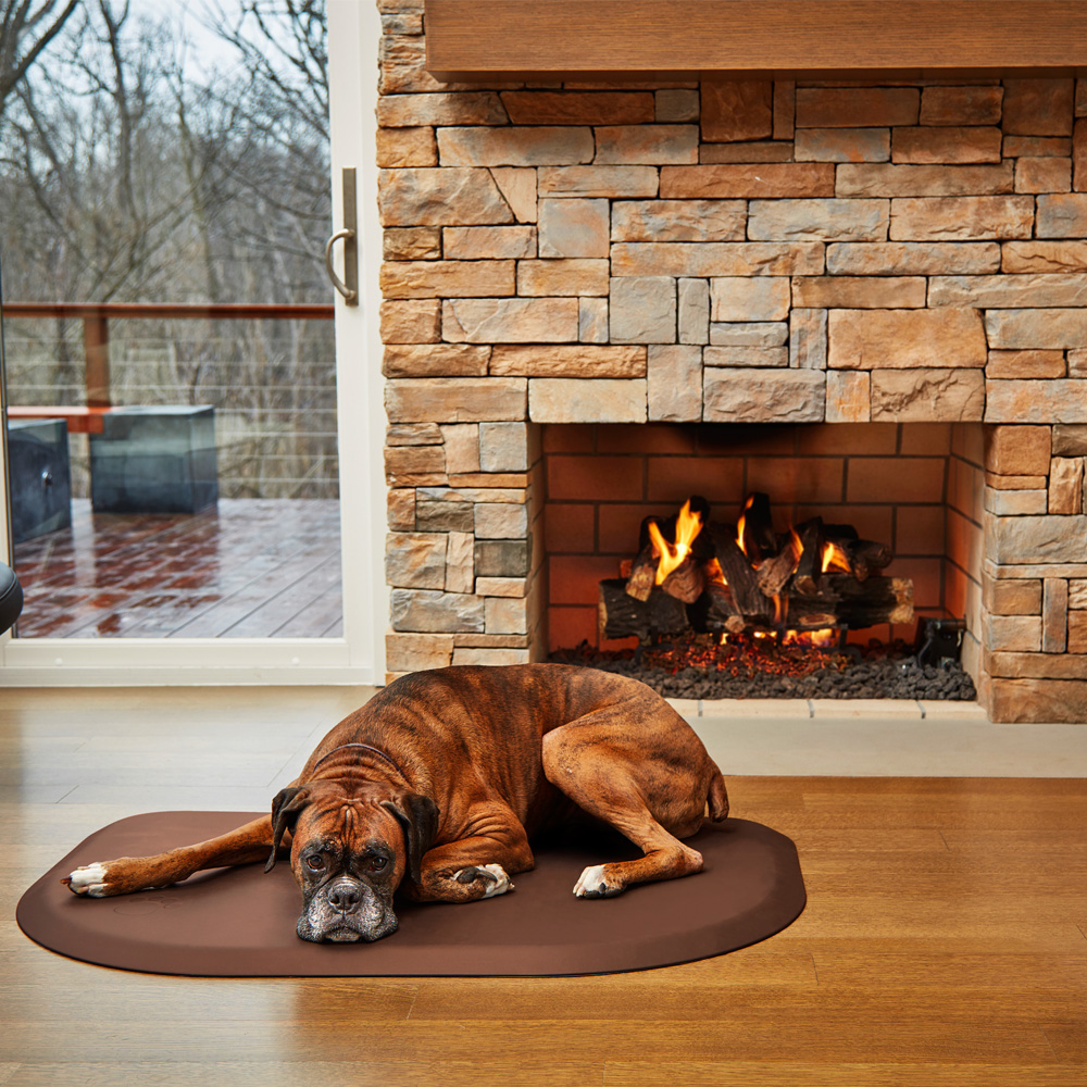 WELLNESS-ROUNDED-PETMAT-BROWN-LARGE