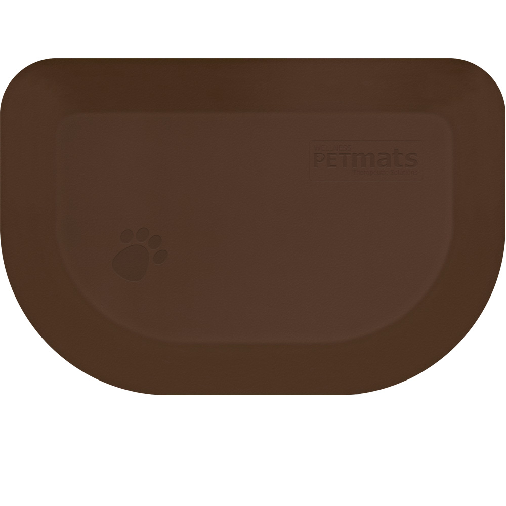 WELLNESS-ROUNDED-PETMAT-BROWN-XSMALL