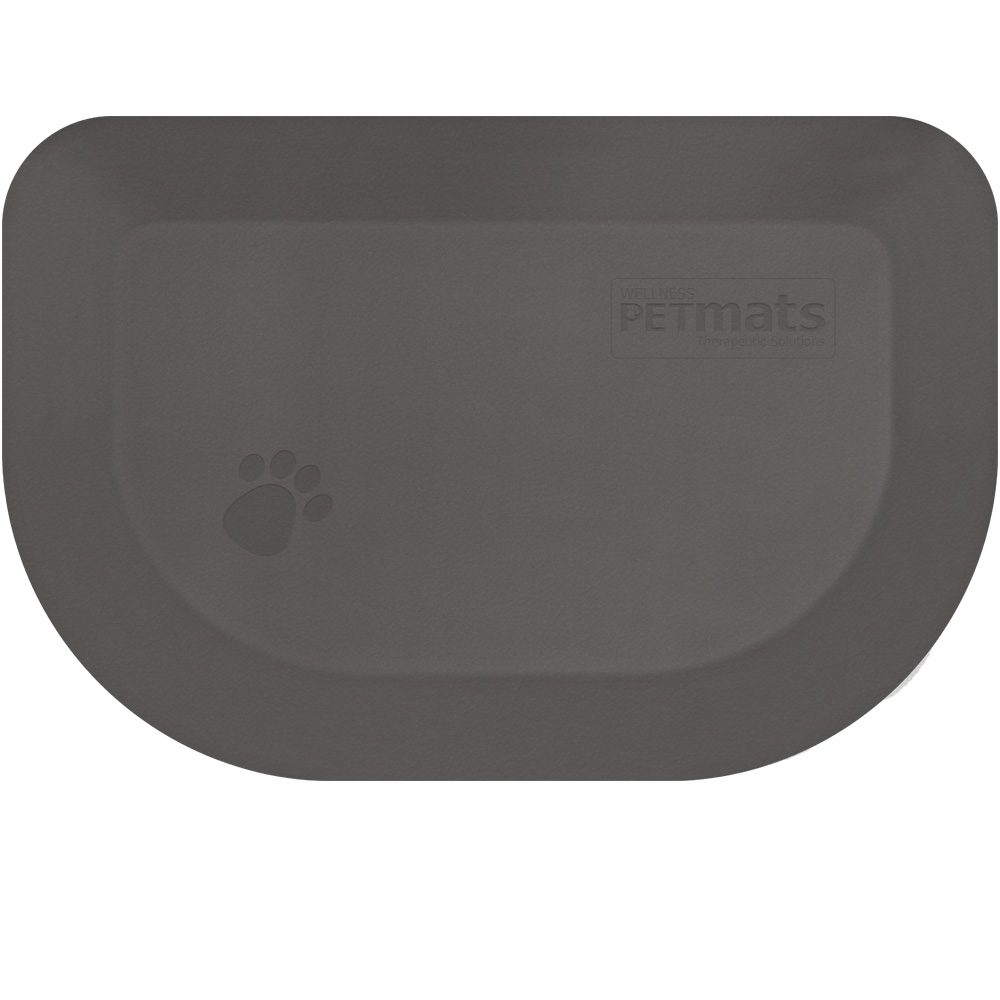 WELLNESS-ROUNDED-PETMAT-GRAY-LARGE
