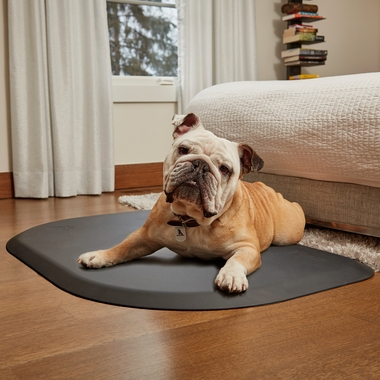 WELLNESS-ROUNDED-PETMAT-GRAY-SMALL