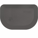 "Wellness Rounded PetMat - Gray Cloud (X-Small 18""x12"")"