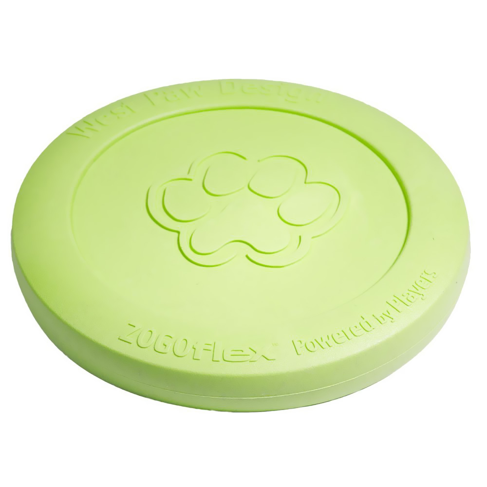 WEST-PAW-ZISC-TOY-GREEN-LARGE