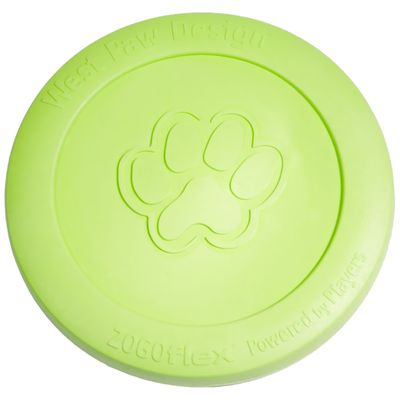 West Paw Zisc Tough Dog Chew Toy - Green (Large)