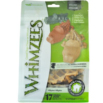 WHIMZEES-ALLIGATOR-DENTAL-DOG-TREATS-SMALL-17-COUNT