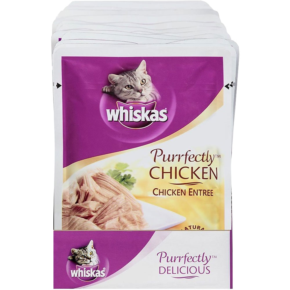 Whiskas Purrfectly Wet Cat Food