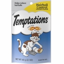 Whiskas Temptations Hairball Control - Chicken Flavor (2.1 oz)