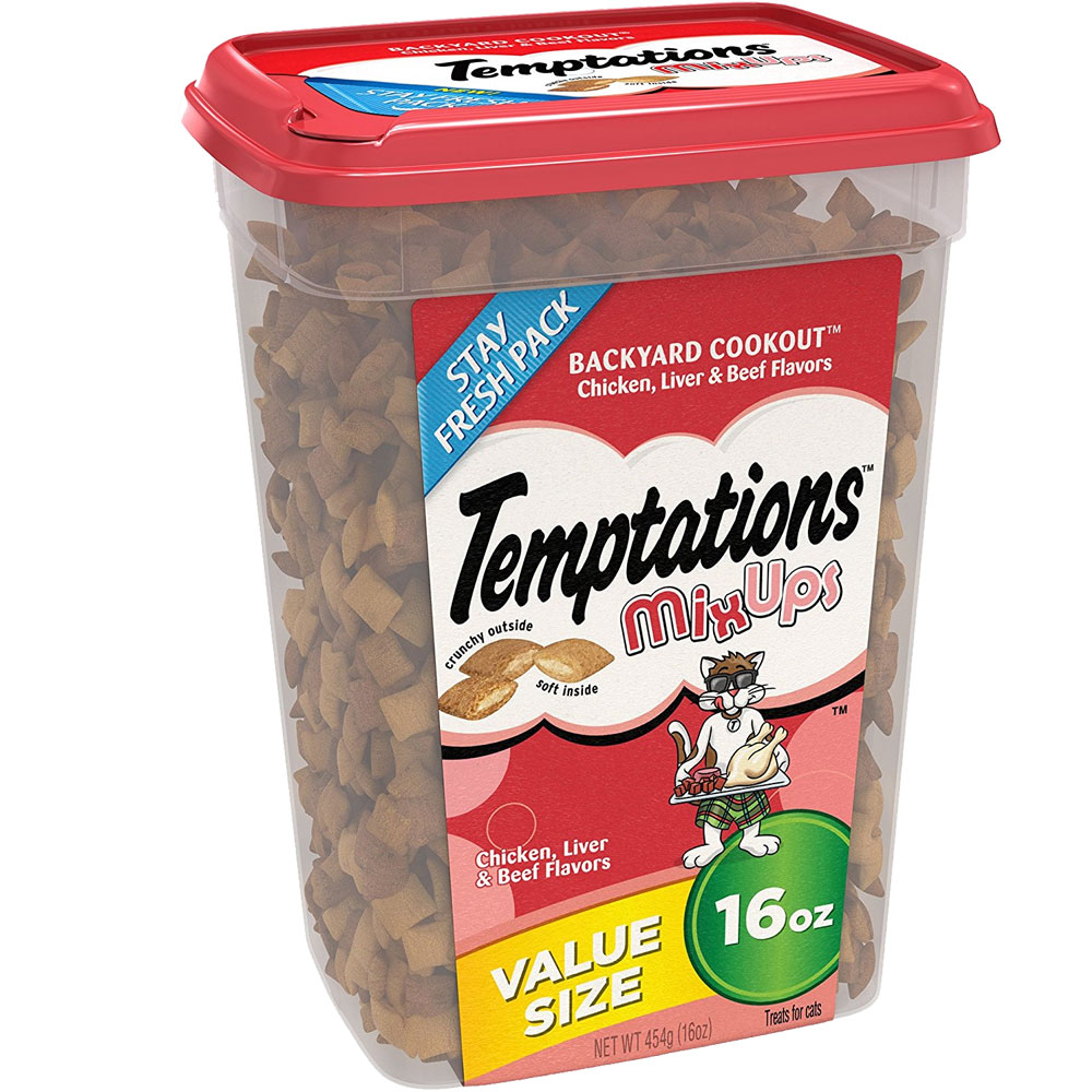 Whiskas Temptations Mixups Treats for Cats - Backyard Cookout (16 oz) im test