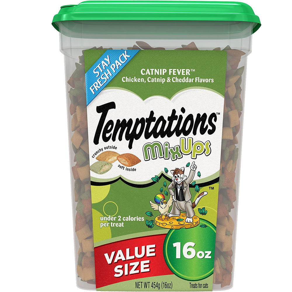 Whiskas Temptations Mixups Treats for Cats - Catnip Fever (16 oz) im test