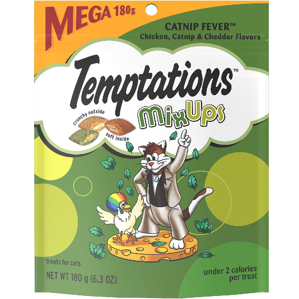 Whiskas Temptations Mixups Treats for Cats - Catnip Fever (6.3 oz) im test
