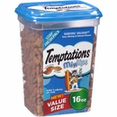 Whiskas Temptations Mixups Treats for Cats - Surfers' Delight (16 oz)