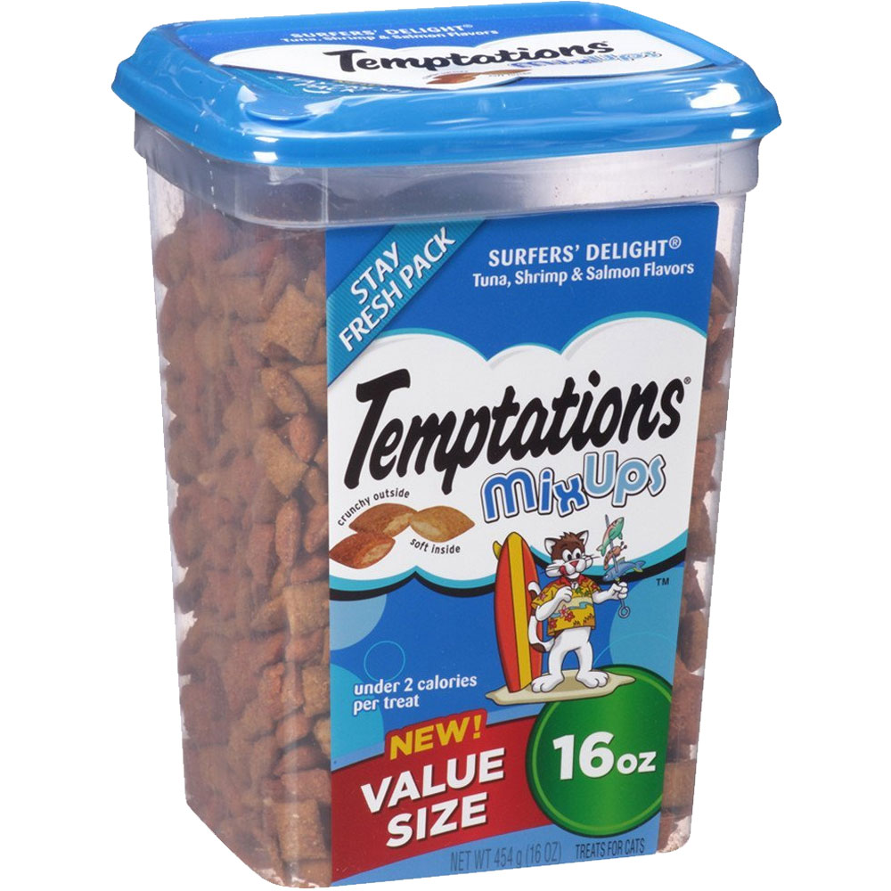 Whiskas Temptations Mixups Treats for Cats - Surfers' Delight (16 oz) im test