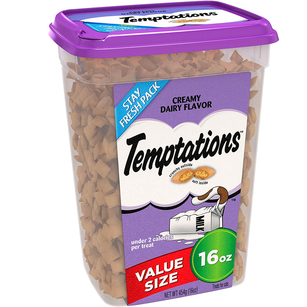 Whiskas Temptations Treats for Cats - Creamy Dairy Flavor (16 oz) im test