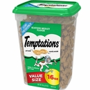 Whiskas Temptations Treats for Cats - Seafood Medley Flavor (16 oz)