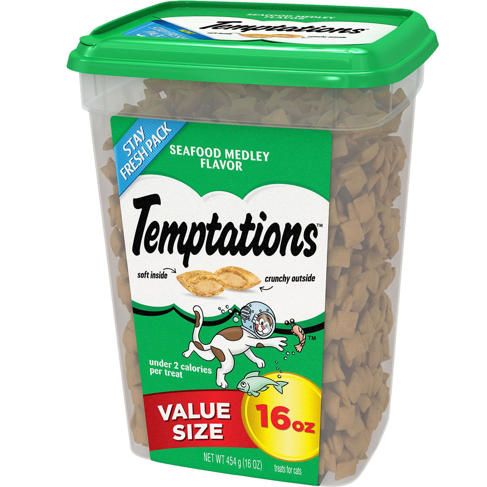 Whiskas Temptations Treats for Cats - Seafood Medley Flavor (16 oz) im test
