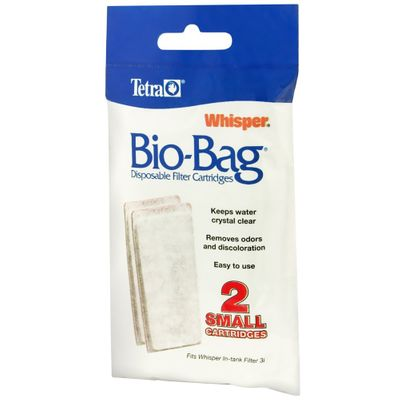 Image of Tetra Whisper Assembled Bio-Bag Cartridge Small - 2 pack - from EntirelyPets