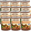 Whole Earth Farms Grain Free - Hearty Turkey & Salmon Stew Canned Dog Food (12x12.7 oz)