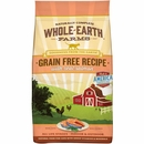 Whole Earth Farms Grain Free - Real Salmon Recipe Dry Cat Food (10 lb)