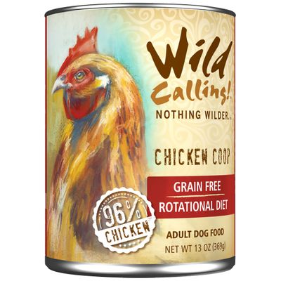 Wild Calling Chicken Coop Canned Dog Food (13 oz)