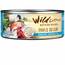 Wild Calling Triple Delight Canned Cat Food - Lamb/Salmon/Chicken (5.5 oz)