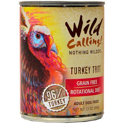 Wild Calling Turkey Trout Canned Dog Food (13 oz)