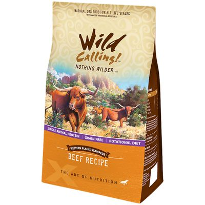 Wild Calling Western Plains Dog Food - Beef (13 lb)