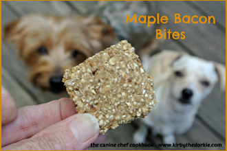 Your Dog Will Be Bacon for More of These Mouth-Watering Maple Bacon Bites!