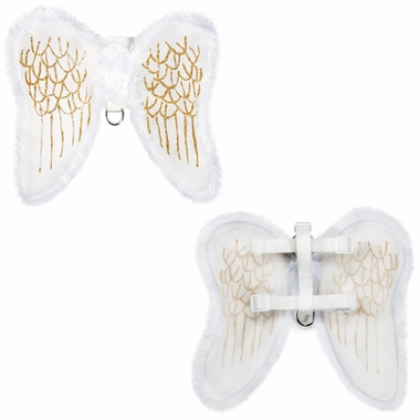 Zack Amp Zoey Angel Wings Harness Dog Costume Large