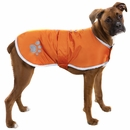 Zack & Zoey Classic Nor'Easter Jacket - Orange (Small)