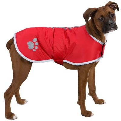 Zack & Zoey Classic Nor'Easter Jacket Red - Large